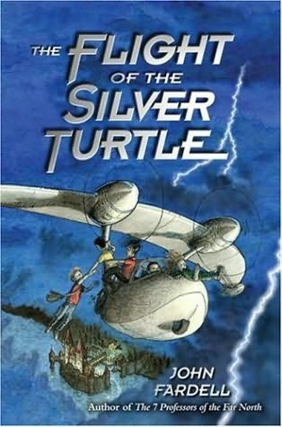 book cover of The Flight of the Silver Turtle