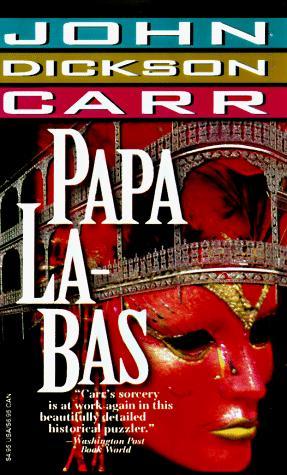 book cover of Papa La-Bas