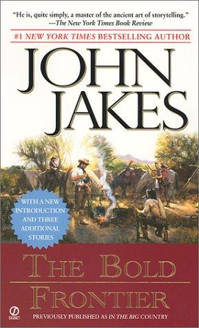book cover of The Bold Frontier