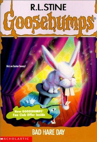 Book 41 in the goosebumps series