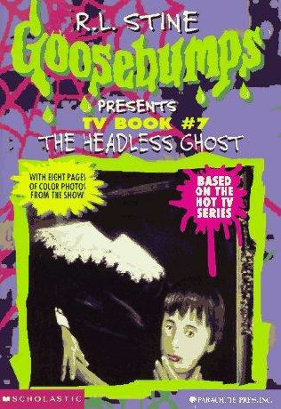 book cover of The Headless Ghost