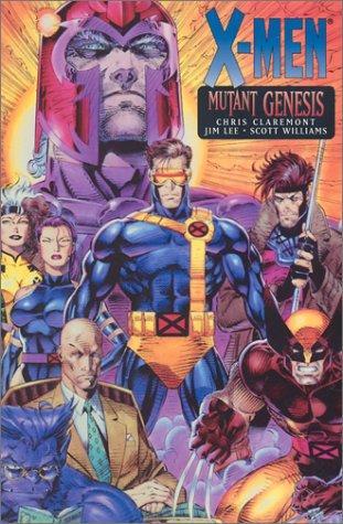 book cover of Mutant Genesis