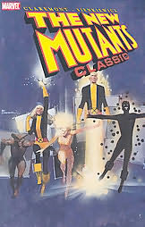 book cover of The New Mutants