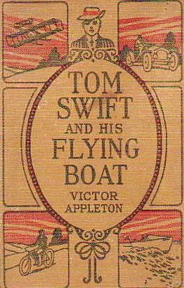 book cover of Tom Swift and His Flying Boat