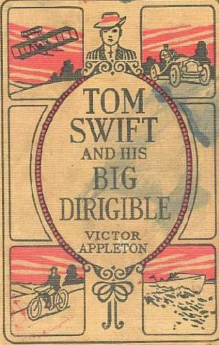 book cover of Tom Swift and His Big Dirigible