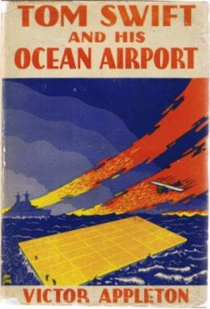 book cover of Tom Swift and His Ocean Airport