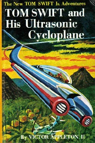 book cover of Tom Swift and His Ultrasonic Cycloplane
