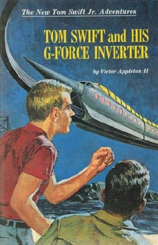 book cover of Tom Swift and His G-Force Inverter