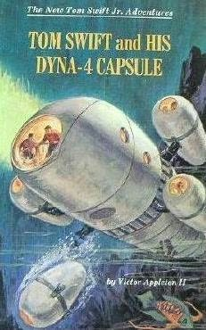 book cover of Tom Swift and His Dyna-4 Capsule