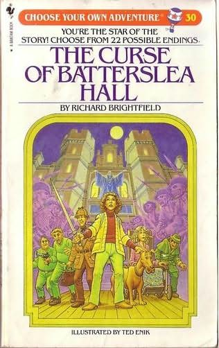 book cover of The Curse of Batterslea Hall