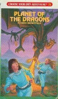 book cover of Planet of the Dragons