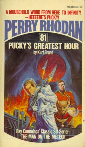 book cover of Pucky\'s Greatest Hour