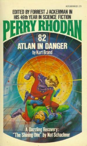 book cover of Atlan in Danger