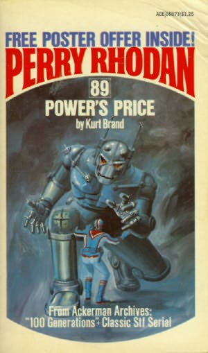 book cover of Power\'s Price