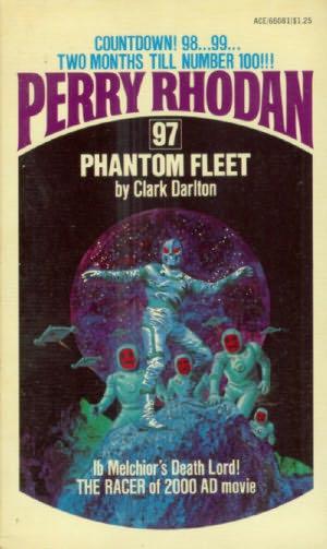 book cover of The Phantom Fleet