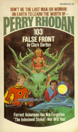 book cover of False Front