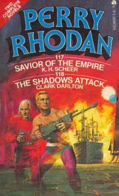 book cover of The Shadows Attack