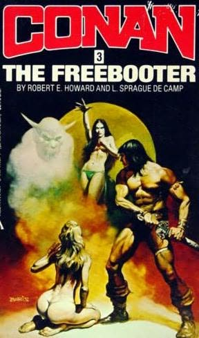 book cover of Conan the Freebooter