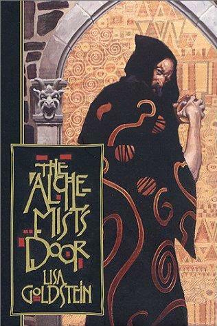 book cover of The Alchemist\'s Door