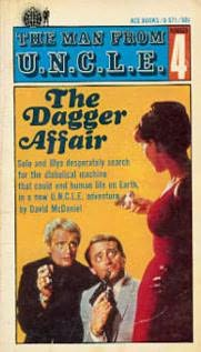 book cover of The Dagger Affair
