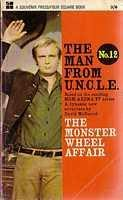book cover of The Monster Wheel Affair