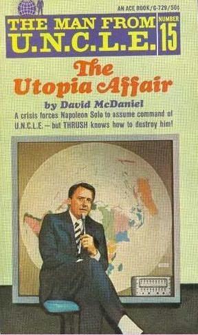 book cover of The Utopia Affair