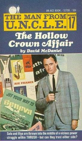 book cover of The Hollow Crown Affair