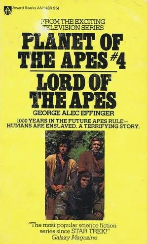 book cover of Lord of the Apes