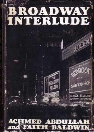book cover of Broadway Interlude