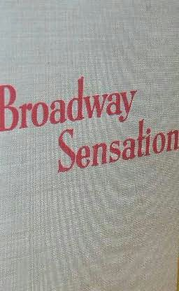 book cover of Broadway Sensation