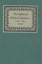 book cover of The Ballad of William Sycamore 1790-1880