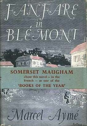 book cover of Fanfare in Blemont
