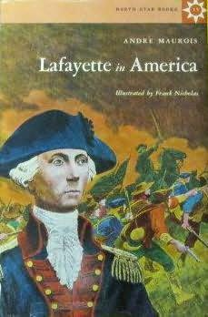book cover of Lafayette in America
