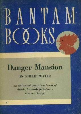 book cover of Danger Mansion