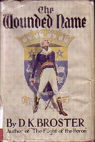 book cover of The Wounded Name