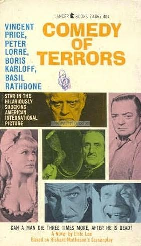book cover of Comedy of Terrors