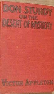 book cover of Don Sturdy on the Desert of Mystery