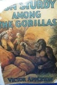 book cover of Don Sturdy Among the Gorillas
