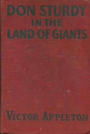 book cover of Don Sturdy in the Land of Giants