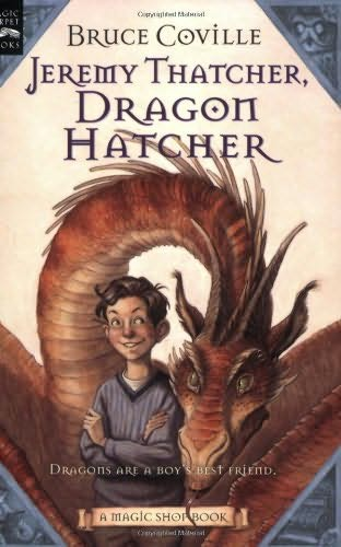 book cover of Jeremy Thatcher, Dragon Hatcher