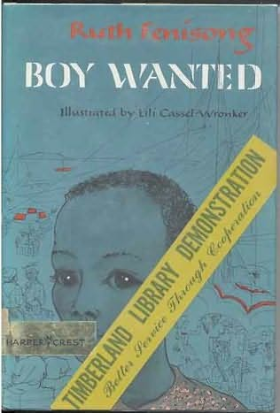 book cover of Boy Wanted