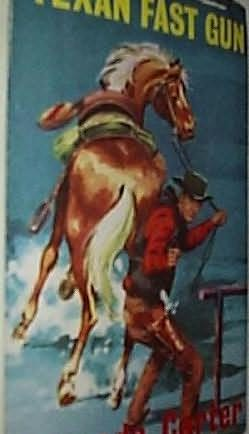 book cover of Texan Fast Gun