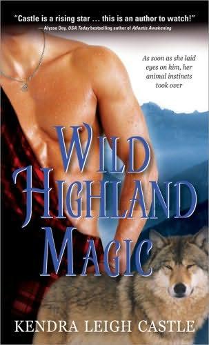 book cover of Wild Highland Magic