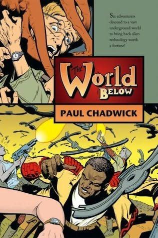 book cover of The World Below