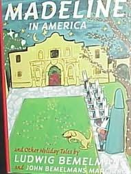 book cover of Madeline in America