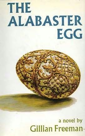 book cover of The Alabaster Egg