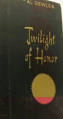 book cover of Twilight Of Honor
