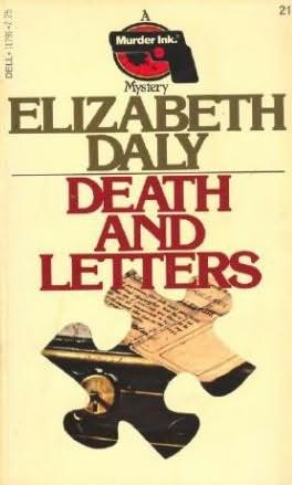 book cover of Death and Letters