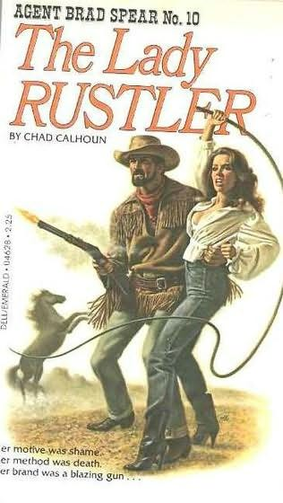 book cover of The Lady Rustler