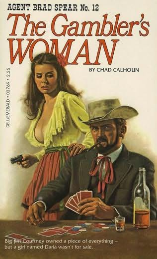 book cover of The Gambler\'s Woman